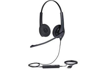 Гарнитура Jabra BIZ 1500 Duo, USB, NC, Global