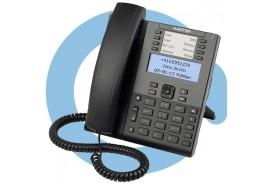 Телефонный аппарат terminal 6865i w/o AC adapter (SIP-телефон, БП опционально)