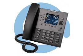 Проводной телефон terminal 6867i w/o AC adapter (SIP-phone, optional PS)