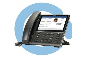 "Телефон проводной MITEL 6873i SIP Phone 7"" 800x480 touchscreen, BT 4.0, USB, 24 lines, 2*1G ethernet (no power supply included)"