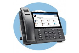 Проводной телефон terminal 6940 w/o AC adapter (SIP-phone, optional PS)