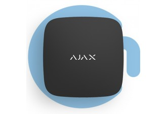 AJAX LeaksProtect Black (Датчик раннего обнаружения затопления, чёрный)