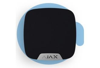 AJAX HomeSIren Black (Беспроводная домашняя сирена, чёрная)
