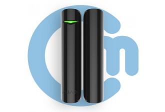 Ajax DoorProtect Plus Black (Магнитный датчик открытия с сенсором удара и наклона, чёрный)
