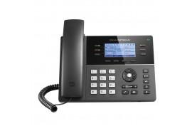 Grandstream GXP1760w - IP телефон. 3 SIP аккаунта, 6 линий, PoE, 24 virtualBLF, Wi-Fi