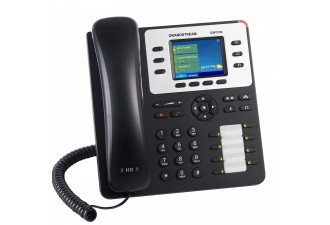 Grandstream GXP2130v2 - IP телефон. 3 SIP аккаунта, 3 линии, цветной LCD, PoE, (1GbE) Gigabit Ethernet, 8 BLF, Bluetooth