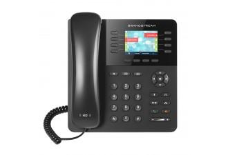 Grandstream GXP2135 - IP телефон. 4 SIP аккаунта, 8 линии, цветной LCD, PoE, (1GbE)Gigabit Ethernet, 32 virtualBLF, Bluetooth