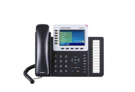 Grandstream GXP2160 - IP телефон. 6 SIP аккаунтов, 6 линий, цветной LCD, PoE, 24 BLF, Gigabit Ethernet, USB, Bluetooth