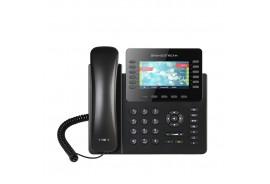 Grandstream GXP2170 - IP телефон. 6 SIP аккаунтов, 12 линий, цветной LCD, PoE, (1GbE)Gigabit Ethernet, 48 virtualBLF, до 4-х GXP2200EXT, USB, Bluetooth