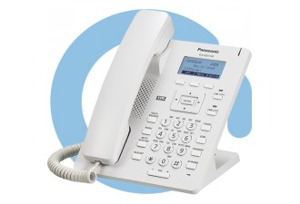 Проводной SIP телефон Panasonic KX-HDV130RU (PoE есть, HUB есть, БП опционально)