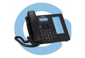Проводной SIP телефон Panasonic KX-HDV230RU (PoE есть, HUB есть, БП опционально, 12*2 BLF)