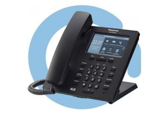 Проводной SIP телефон Panasonic KX-HDV330RU (PoE есть, HUB есть, БП опц.,цветной touch, 24 BLF, BT)