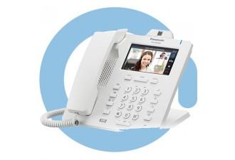 Проводной SIP телефон Panasonic KX-HDV430RU (PoE есть, HUB есть, БП опционально)