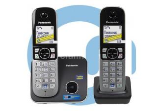 Телефон DECT Panasonic KX-TG6812RU