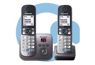 Телефон DECT Panasonic KX-TG6822RU