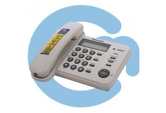 Телефон проводной Panasonic KX-TS2356RUB