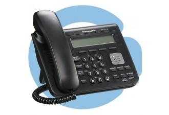 Проводной SIP телефон Panasonic KX-UT113RU-B (SIP телефон)