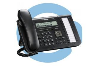 Проводной SIP телефон Panasonic KX-UT133RU-B (SIP телефон)