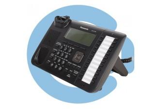 Проводной SIP телефон Panasonic KX-UT136RU-B (SIP телефон)
