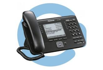 Проводной SIP телефон Panasonic KX-UT248RU-B (SIP телефон)