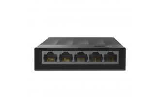 5-портовый 10/100/1000 Мбит/с настольный коммутатор LS1005G