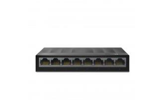 8-портовый 10/100/1000 Мбит/с настольный коммутатор LS1008G