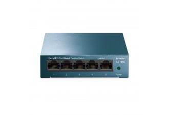 5-портовый 10/100/1000 Мбит/с настольный коммутатор LS105G