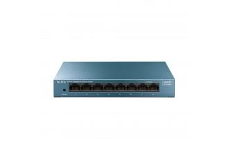 8-портовый 10/100/1000 Мбит/с настольный коммутатор LS108G