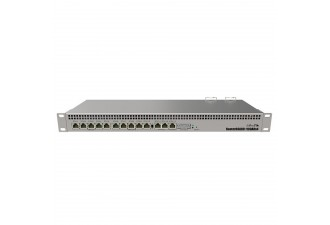 Коммутатор MikroTik RouterBOARD 1100AHx4 with Annapurna Alpine AL21400 Cortex A15 CPU (4-cores, 1.4GHz per core), 1GB RAM, 13xGbit LAN, RouterOS L6, 1U rackmount case, Dual PSU