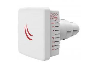 Точка доступа MikroTik LDF 2 with 10dBi integrated 2.4GHz antenna, Dual Chain 802.11bgn wireless, 650MHz CPU, 64MB RAM, 1x LAN, outdoor case, POE, PSU, RouterOS L3