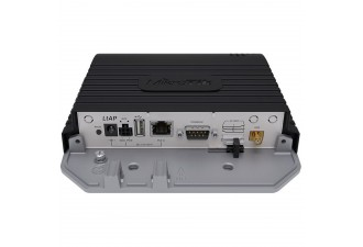 Точка доступа MikroTik LtAP LTE kit with dual core 880MHz CPU, 128MB RAM, 1 x Gigabit LAN, built-in High Power 2.4Ghz 802.11b/g/n Dual Chain wireless with integrated antenna, LTE CAT6 modem for International
