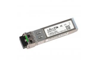 Модуль MikroTik SFP module 1.25G SM 80km 1550nm Dual LC-connector DDM -40C +85C