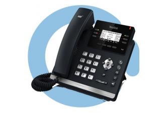 SIP-T41P (S) SIP-телефон, 6 линий, BLF, PoE, БЕЗ БП