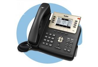 SIP-T27G SIP-телефон, 6 линий, Opus, BLF, PoE, USB, GigE