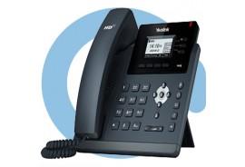 SIP-T40G SIP-телефон, 3 линии, Opus, BLF, PoE, GigE, БЕЗ БП