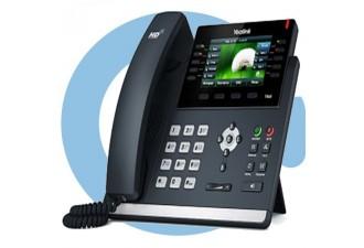 SIP-T46S (G) SIP-телефон,  цветной экран, 16 линий, Opus, BLF, PoE, USB, GigE, БЕЗ БП