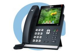 SIP-T48S (G) SIP-телефон, цветной сенсорный экран, 16 аккаунтов, Opus, BLF, PoE, USB, GigE, БЕЗ БП