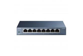 8-портовый 10/100/1000 Мбит/с настольный коммутатор TL-SG108
