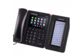 "Grandstream GXV3240 - IP видеотелефон. 6 SIP аккаунтов, 6 линий, 4.3"" (480×272) мультитач экран, PoE, (1GbE)Gigabit Ethernet, до 4-х GXP2200EXT, Wi-Fi, Bluetooth"
